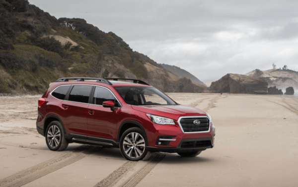 2019 Subaru Ascent Front side exterior review