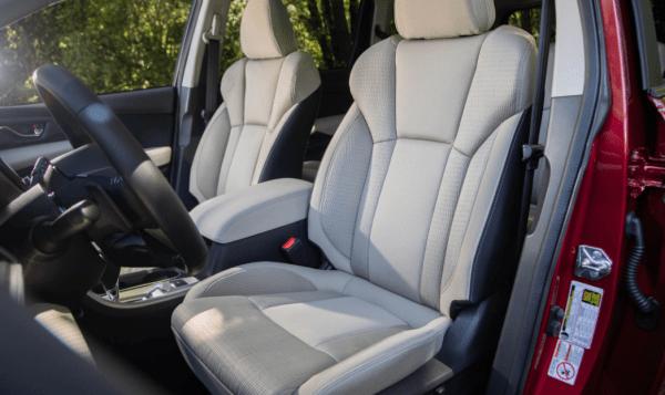 2019 Subaru Ascent seats review