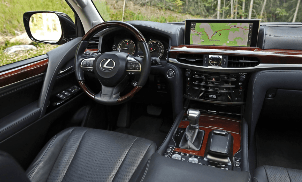 2018 Lexus LX570 Dashboard View