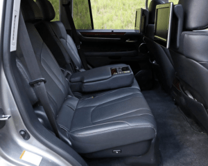 2018 Lexus LX570 Rear Seat View