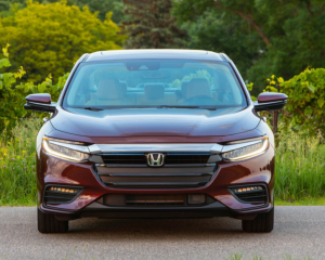 2019 Honda Insight Grille View