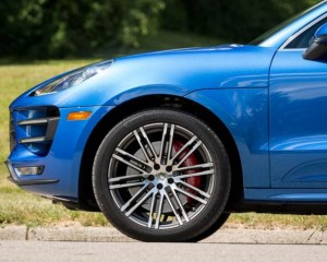 2018 Porsche Macan Turbo SUV Wheel View