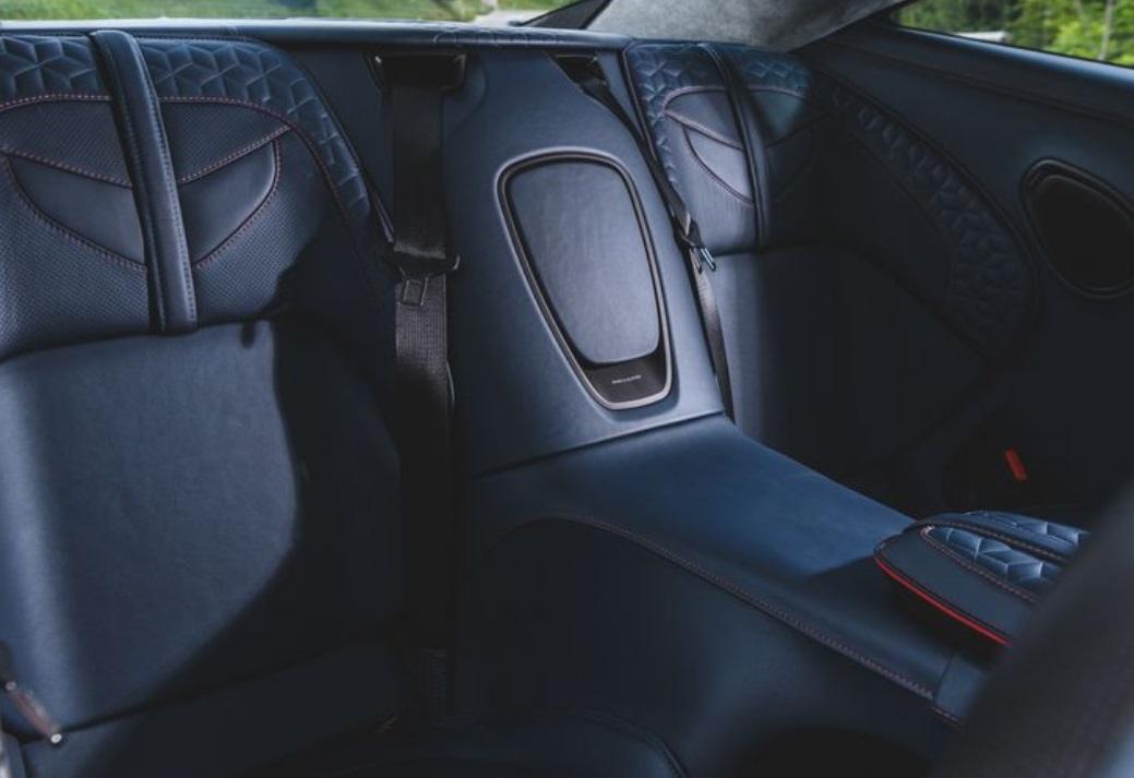 2019 Aston Martin DBS Superleggera Rear Seats View