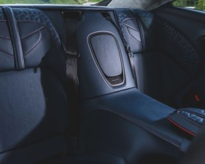 2019 Aston Martin DBS Superleggera Rear Seats View