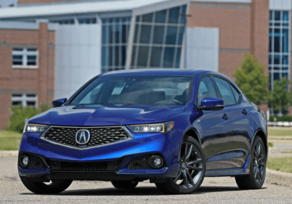 2019 Acura TLX front review
