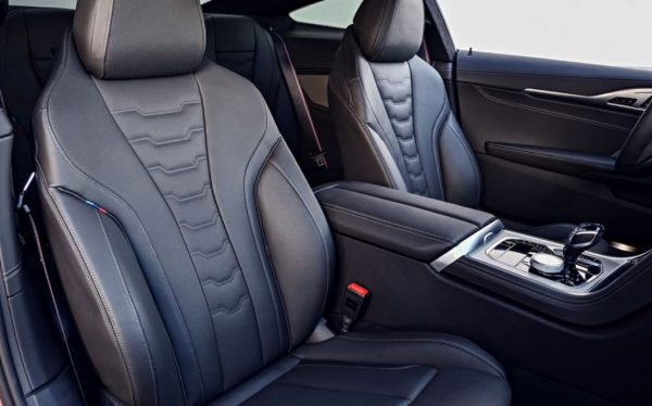 2019 BMW 850i seats review