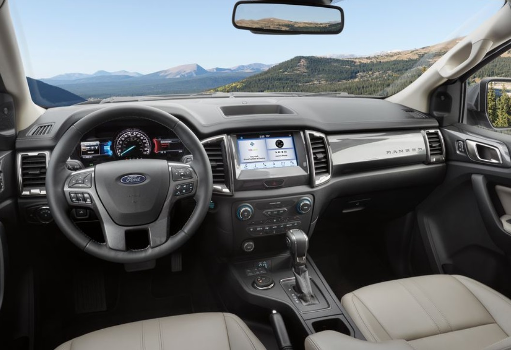 2019 Ford Ranger Interior View
