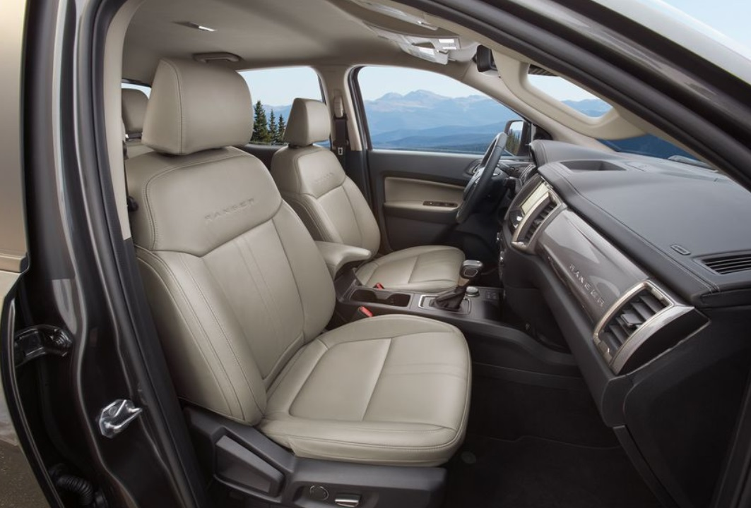 2019 Ford Ranger Front Seats View