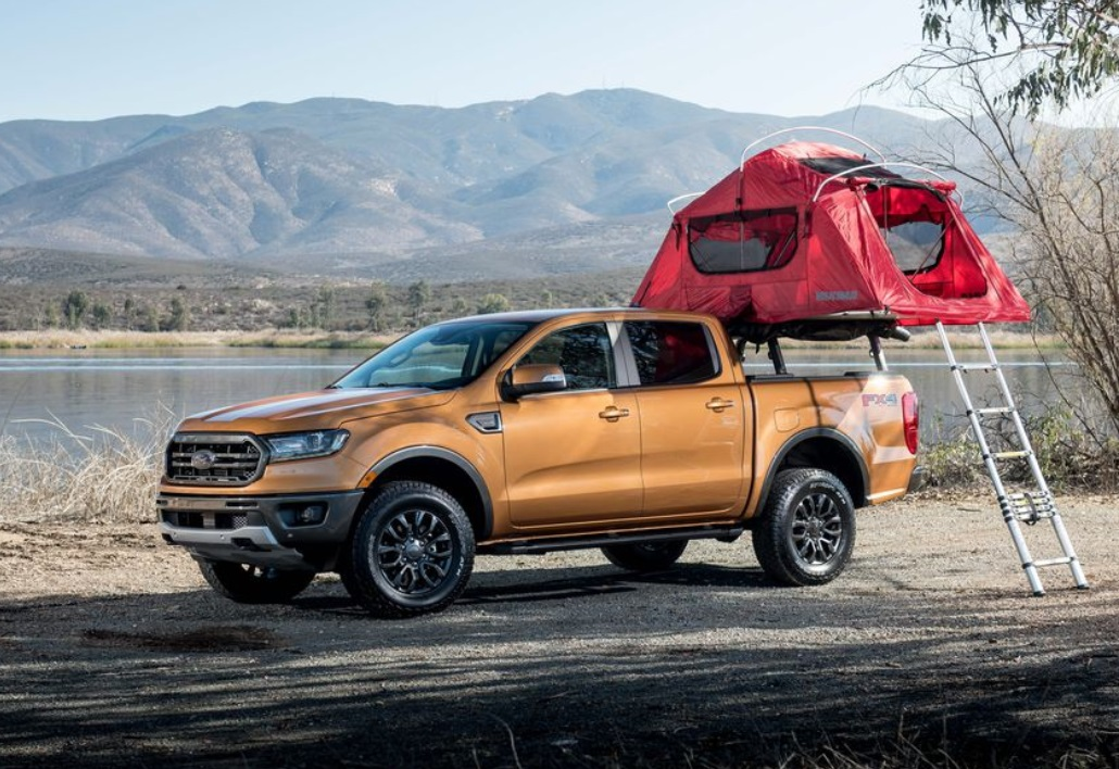 2019 Ford Ranger Exterior View