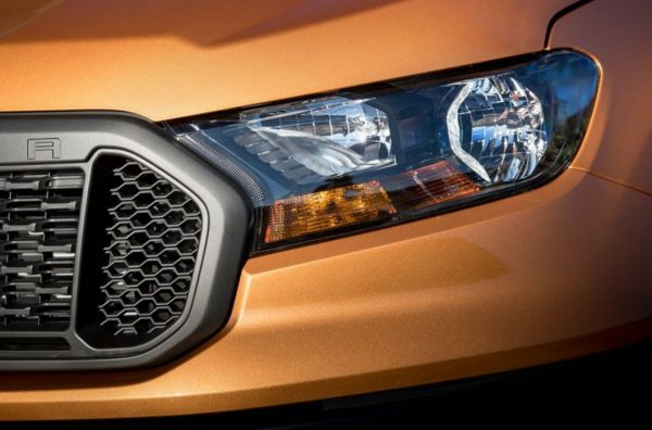 2019 Ford Ranger headlight review