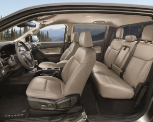2019 Ford Ranger Seats View