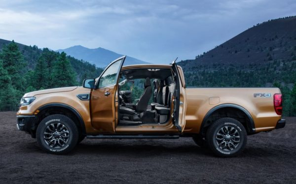 2019 Ford Ranger side review