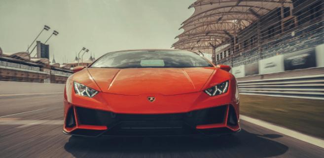 2020 Lamborghini huracan evo front review
