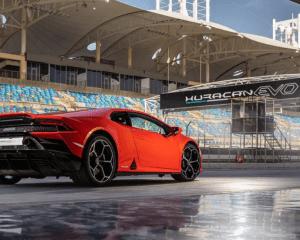 2020 Lamborghini Huracan Evo Rear View