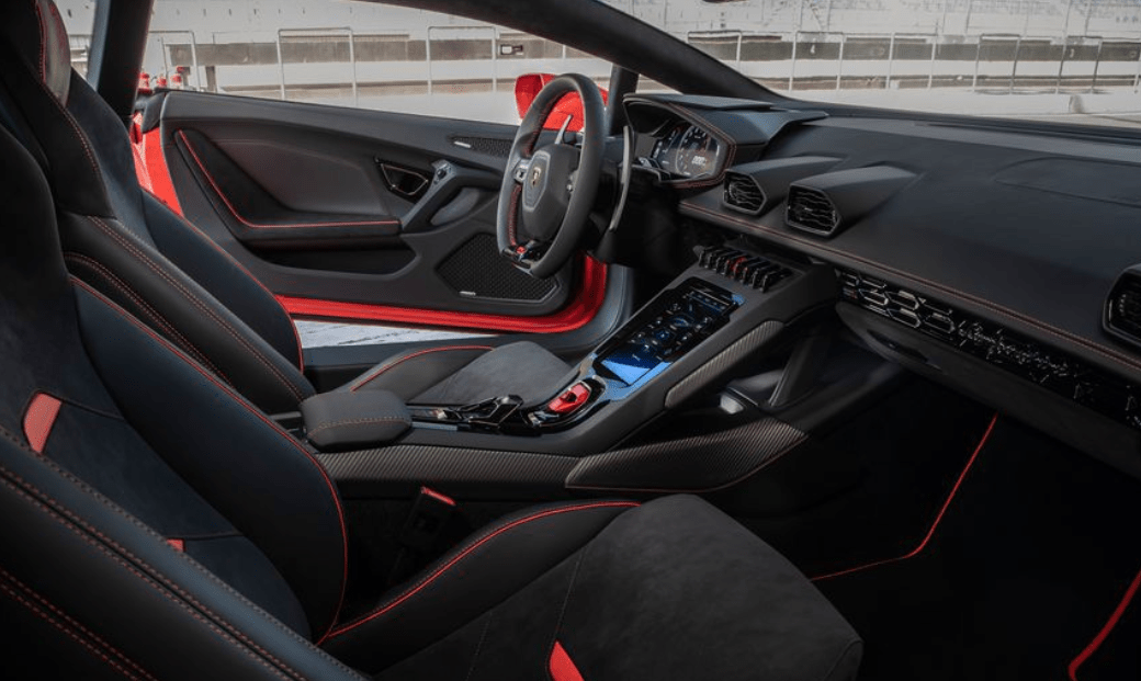 2020 Lamborghini huracan evo seats review