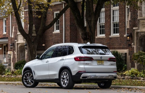 BMW X5 2019 rear review