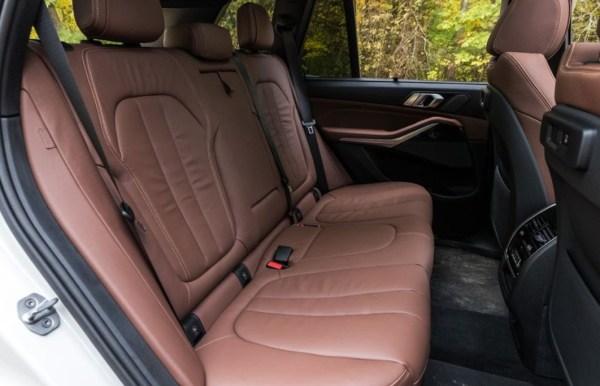 2019 BMW X5 rear seats review