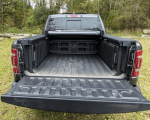 2019 Ram 1500 cargo rear review