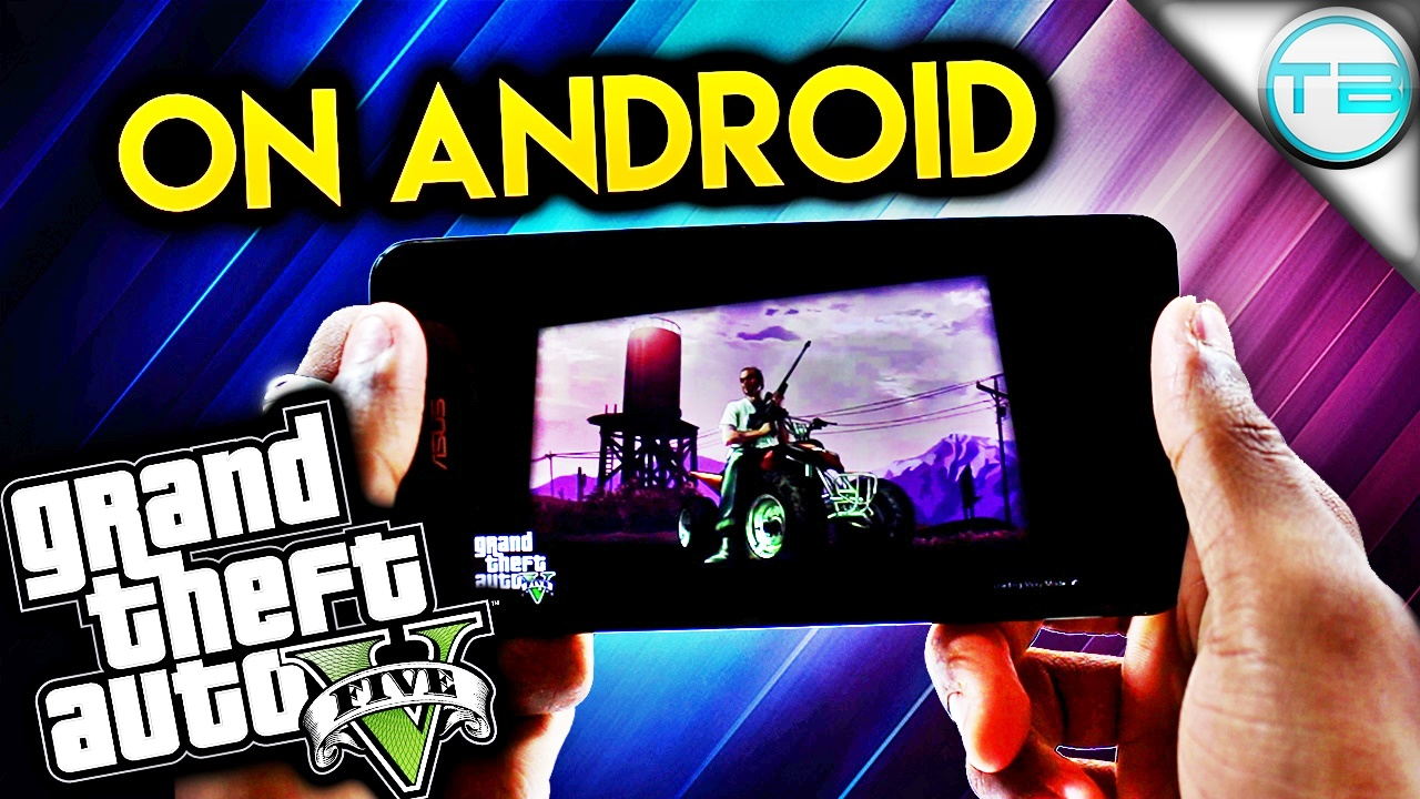 GTA 5 v1.08 Apk Download +obb data for Android