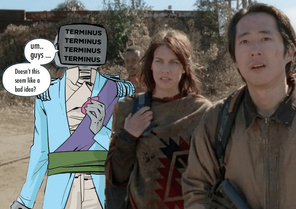 If Only the Walking Dead Survivors had a Robot