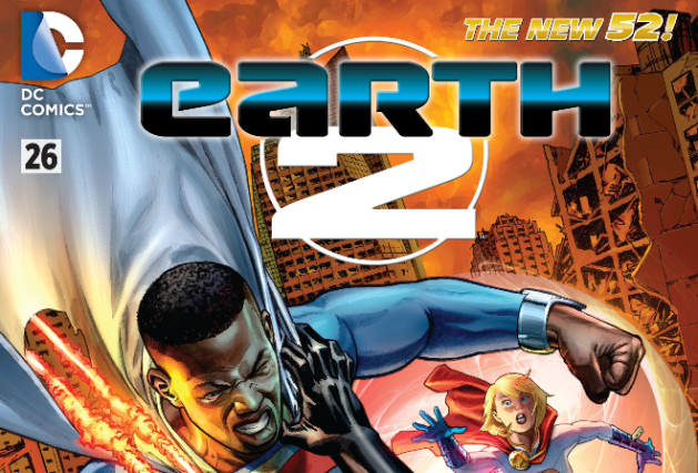 Earth 2 Issue 26 Review