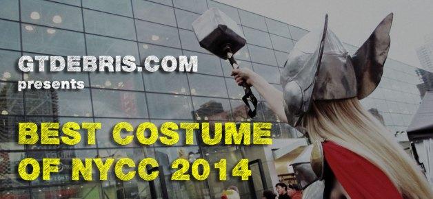 Best Costume at NYCC 2014: LADY THOR, Goddess of Thunder.