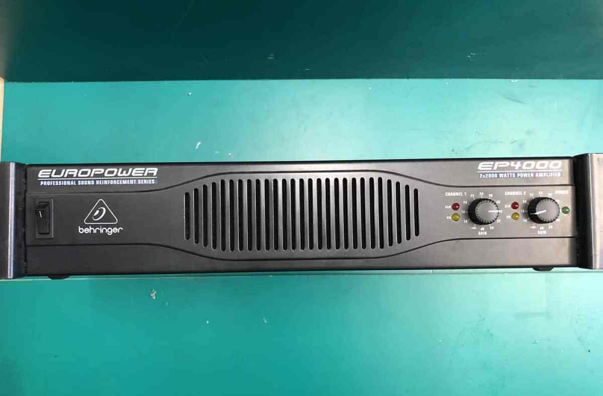 Behringer Europower EP4000 Amplifier