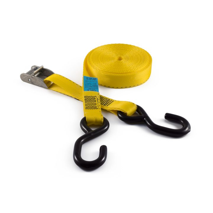 CB25S - 25mm 400kgs Cam Buckle Strap with PVC Coated Shooks