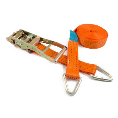 RL50DW LH-ERG - 50mm 5000kgs Ergo Ratchet Strap with wire clkaw hooks