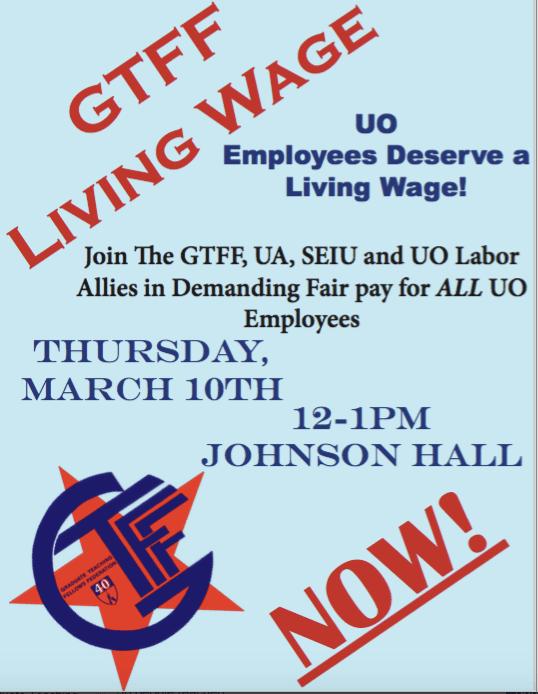 Living Wage rally 3-10