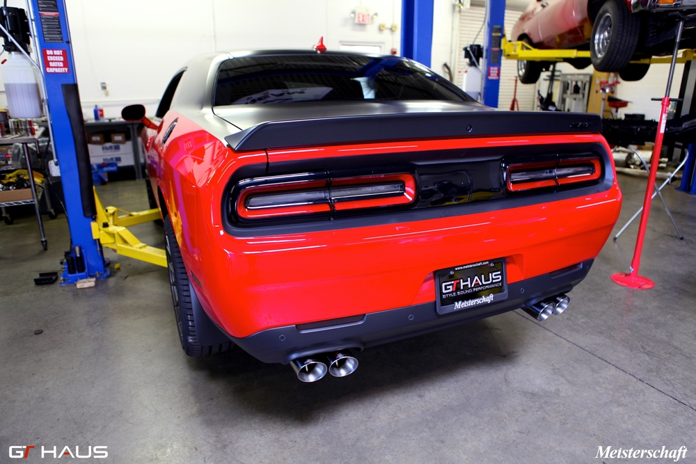 dodge challenger coupe hellcat 707