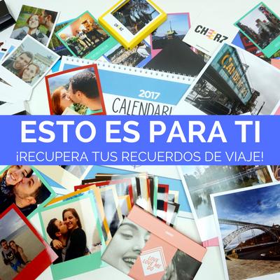 Cómo revelar tus fotos con CHEERZ. 5€ de descuento.