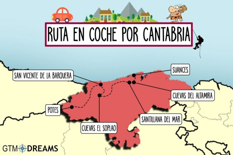 RUTAS EN COCHE EN CANTABRIA