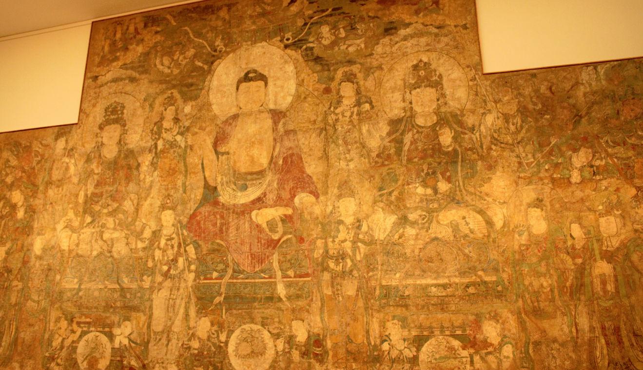中国佛壁画
