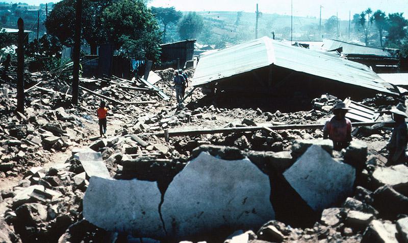 Conmemoraron los 40 años del Terremoto de 1976