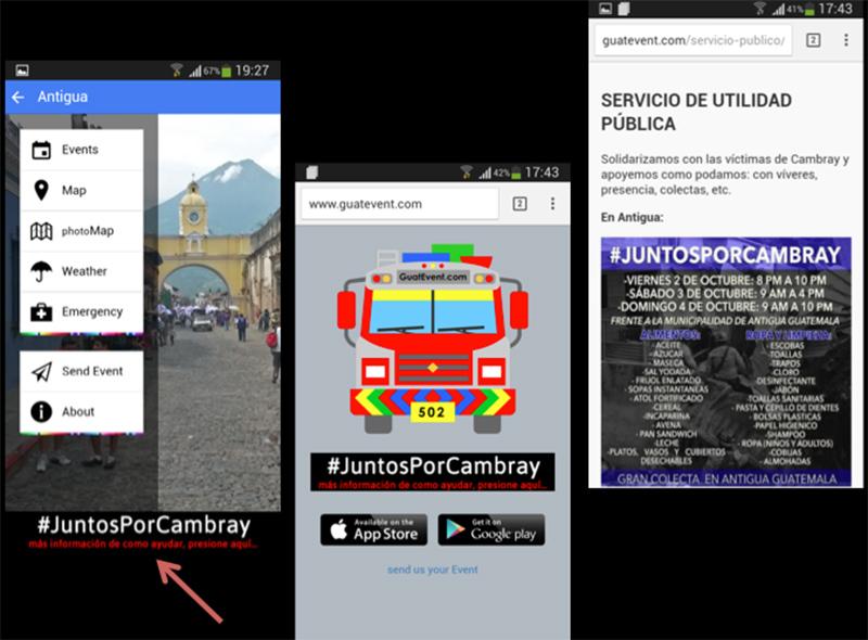 GuatEvent la app de eventos de Antigua y Guatemala