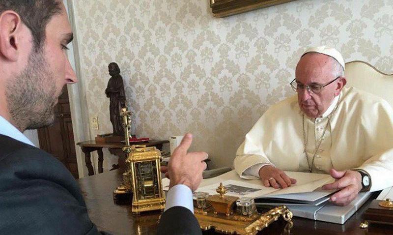 El papa Francisco recibió al CEO de Instagram