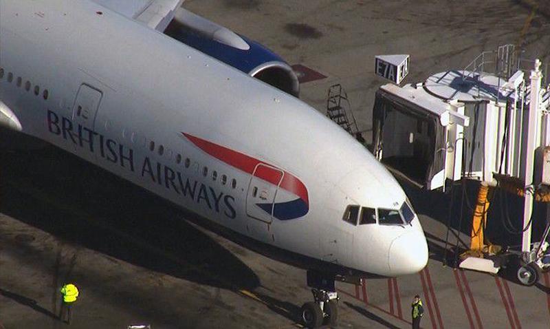 Un drone chocó contra un avión de British Airways