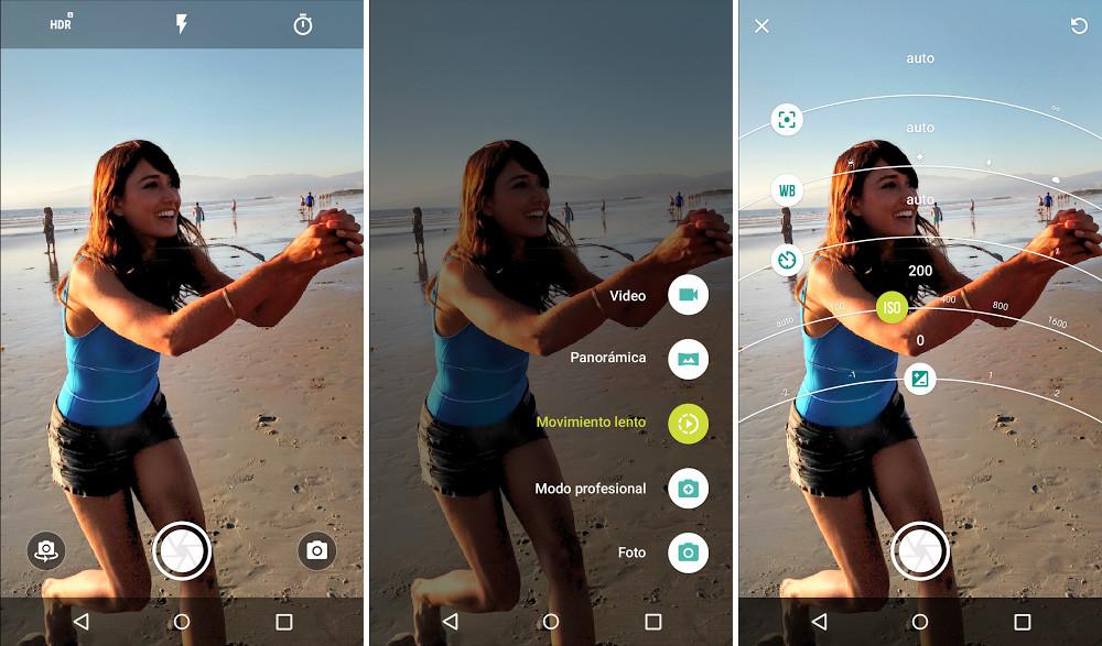 Cámara Moto para Android ya ha llegado.