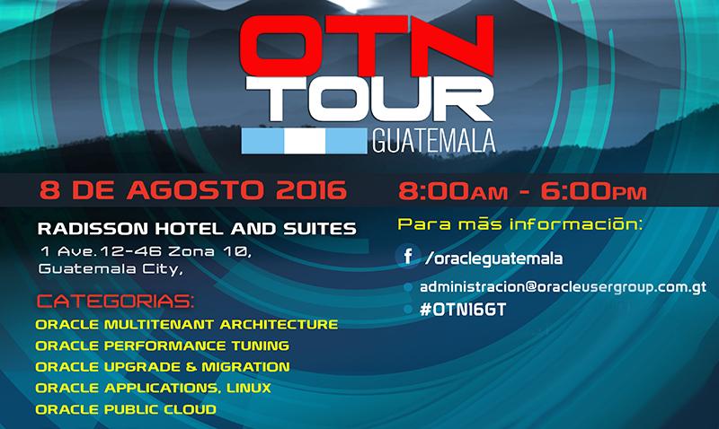 Llega a Guatemala el Oracle Technology Network Tour