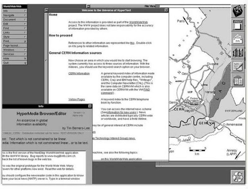 25 años del acceso público al primer sitio Web