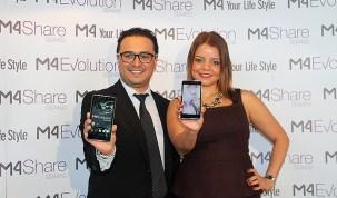 M4 lanzó sus nuevos smartphones 4G LTE