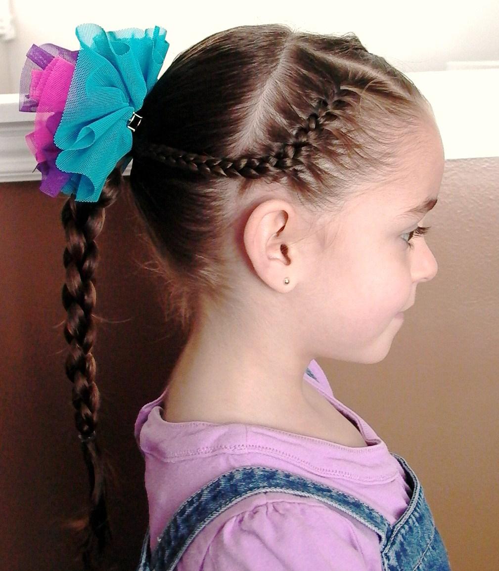 Braid Little Girl Hair Style Latest Hair Styles Cute