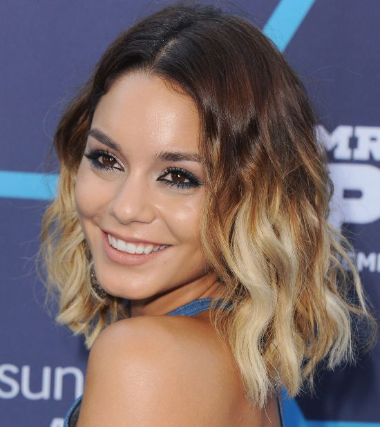 Vanessa Hudgens Hairstyles Ombre Latest Hair Styles