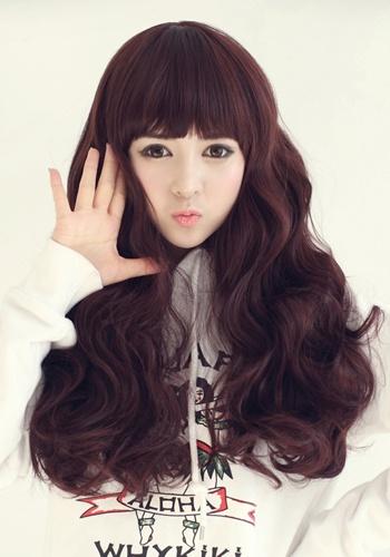 Korean Female Hairstyle The Baby Doll Latest Hair