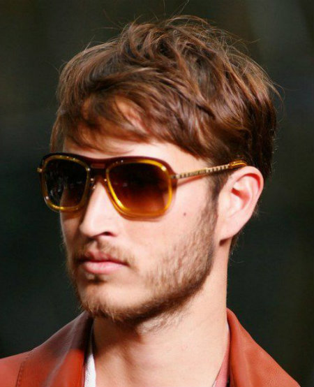Mens Short Hairstyles For Thin Hair 2015 With Longer
