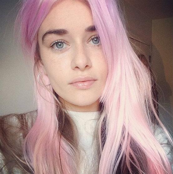 Pastel Pink Purple Hair Dye Colors Latest Hair Styles