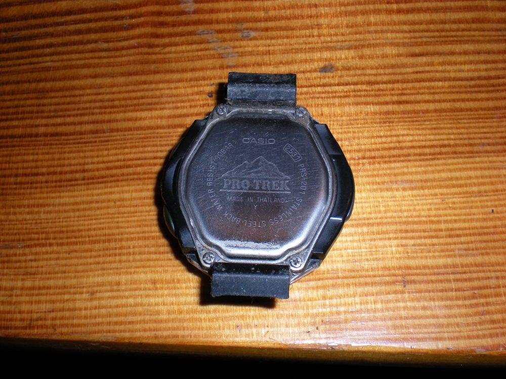 How to change the battery on a Casio ProTrek Solar Powered watch (1/6)