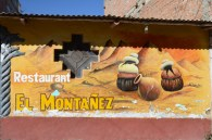 Restaurant front - Huaraz