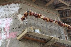 Drying corn - Huari